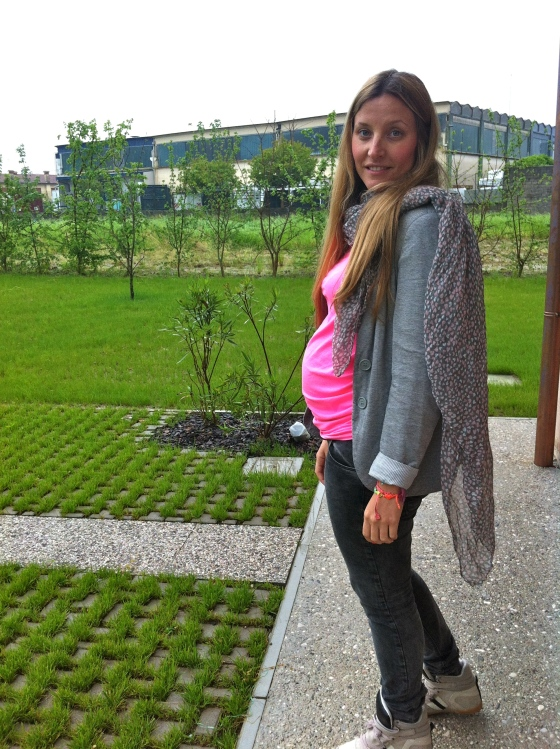 estilo embarazada lluvia 4