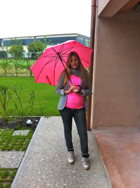 estilo embarazada lluvia 3