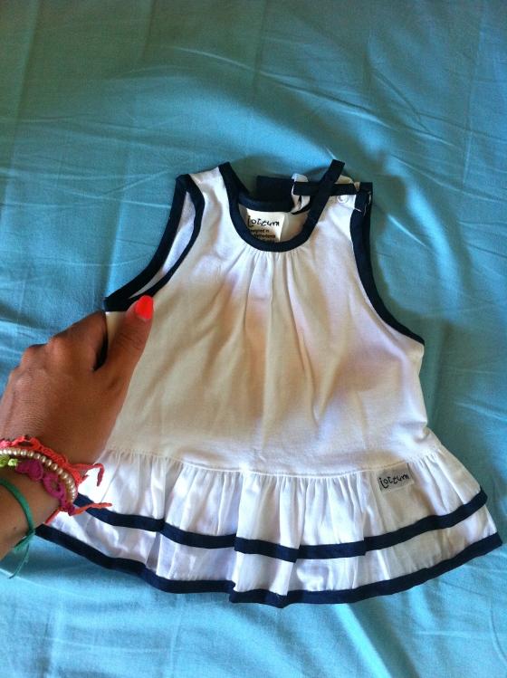 mini vestido bebe
