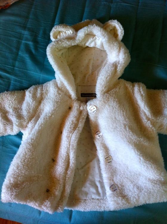 abrigo bebe 6 meses